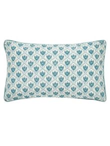 Sanderson Sita cushion 30X50cm cobalt