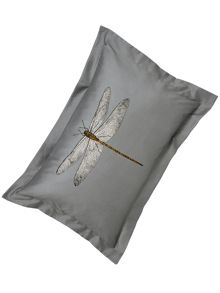 Harlequin Demoiselle print oxford pillowcase