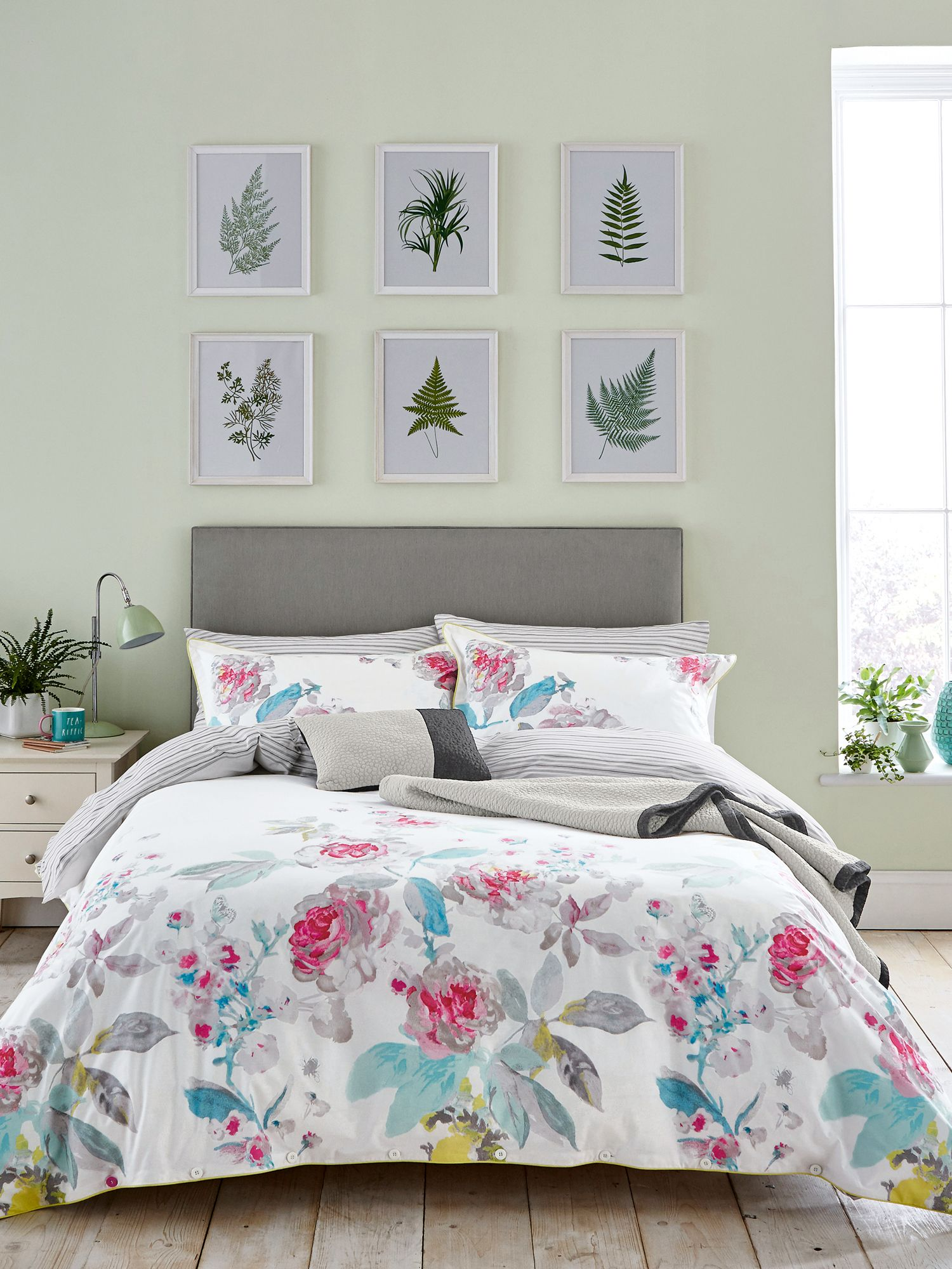 Image of Joules Bright beau bloom duvet cover