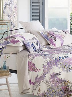 Wisteria falls oxford pillowcase