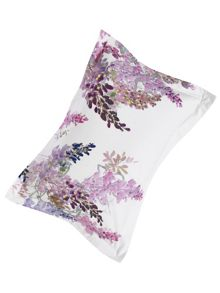 Sanderson Wisteria falls oxford pillowcase