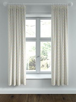 Eva lined curtains 66x72 denim