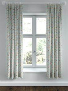 Helena Springfield Belle lined curtains 66x72 duck egg
