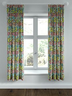 Bonnie lined curtains 66x72 citrus