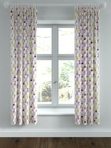 Helena Springfield Polly lined curtains 66x72 foxglove