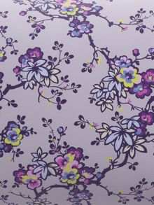 Helena Springfield Sally lined curtains 66x72 foxglove