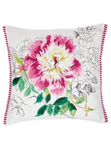 Designers Guild Sibylla embroidered cushion 40x40cm