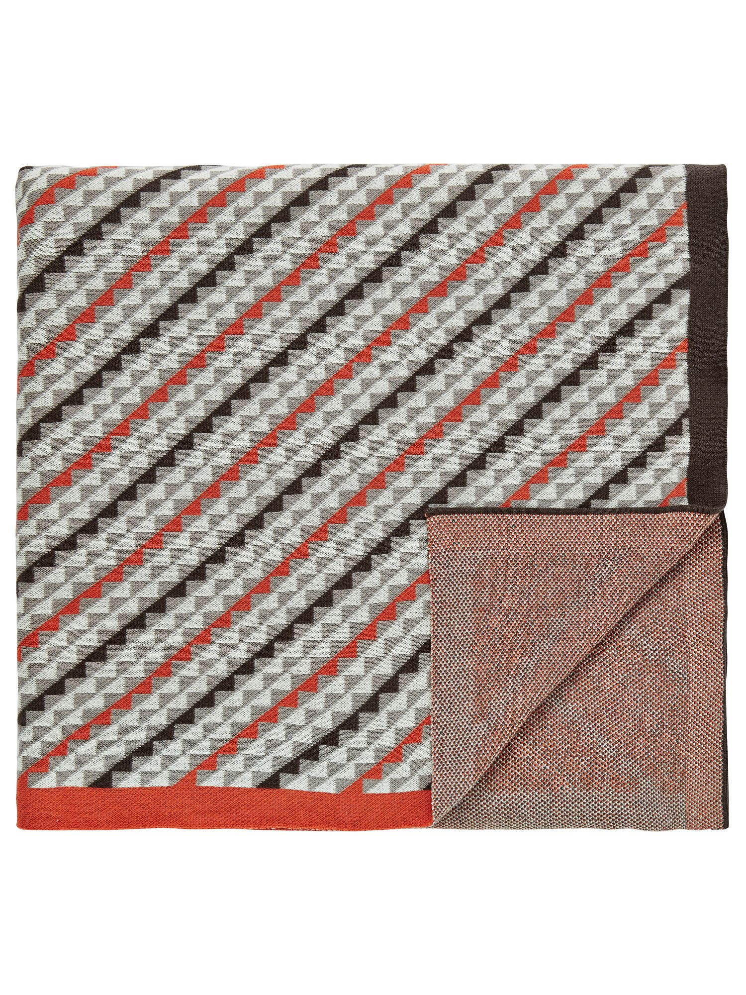 Bedeck 1951 Bedeck 1951 Soto knitted throw 150x200cm charcoal