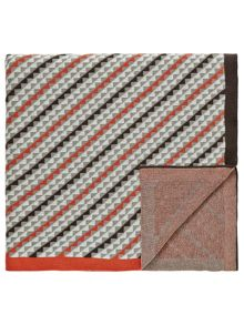 Bedeck 1951 Soto knitted throw 150x200cm charcoal