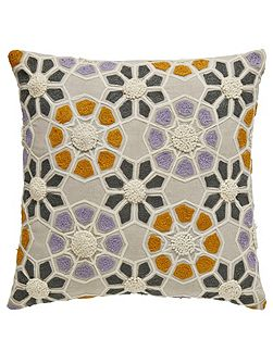 Minoa cushion 40x40cm heather