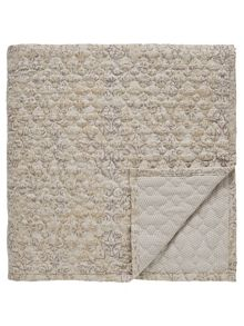 Bedeck 1951 Minoa quilted throw 265x260cm heather