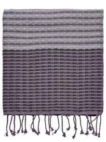 Bedeck 1951 Minoa woven throw 150x120cm heather