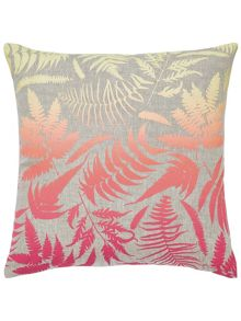 Clarissa Hulse Filix cushion 45x45 coral