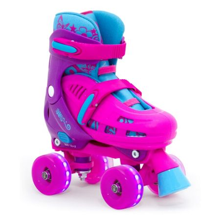 Roy Sport Adjustable Quad Skate - Pink -12-2