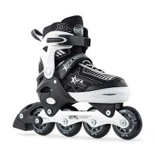 Pulsar Adjustable Inline Skates - Silver - 12-2