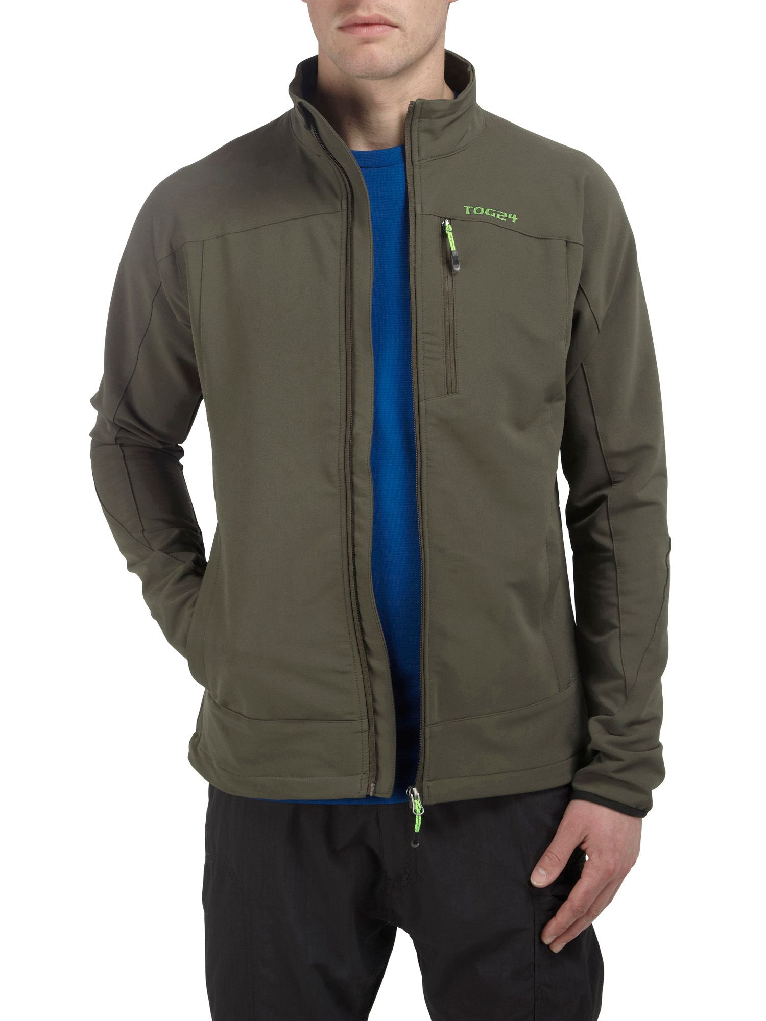 Hype TCZ softshell funnel neck jacket