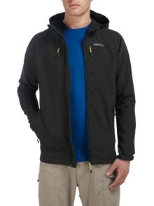 Hype hooded TCZ softshell hooded jacket