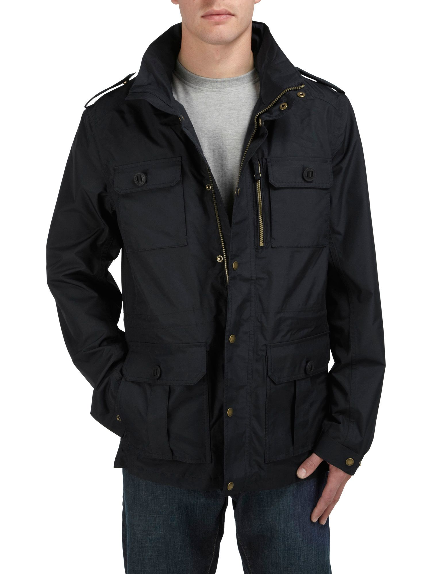 Monza milatex hooded jacket