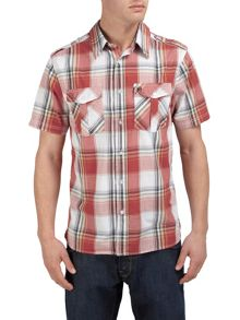 Tog 24 Altus check short sleeve shirt