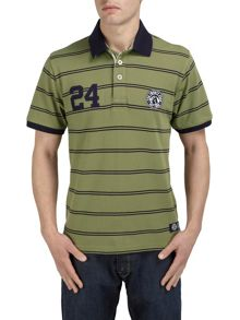 Tog 24 Comet stripe short sleeve polo shirt