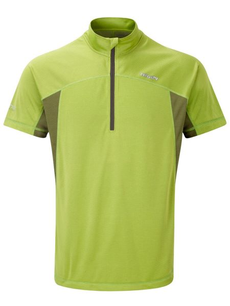 Tog 24 Cairns Bamboo Zip Neck Regular Fit T-Shirt