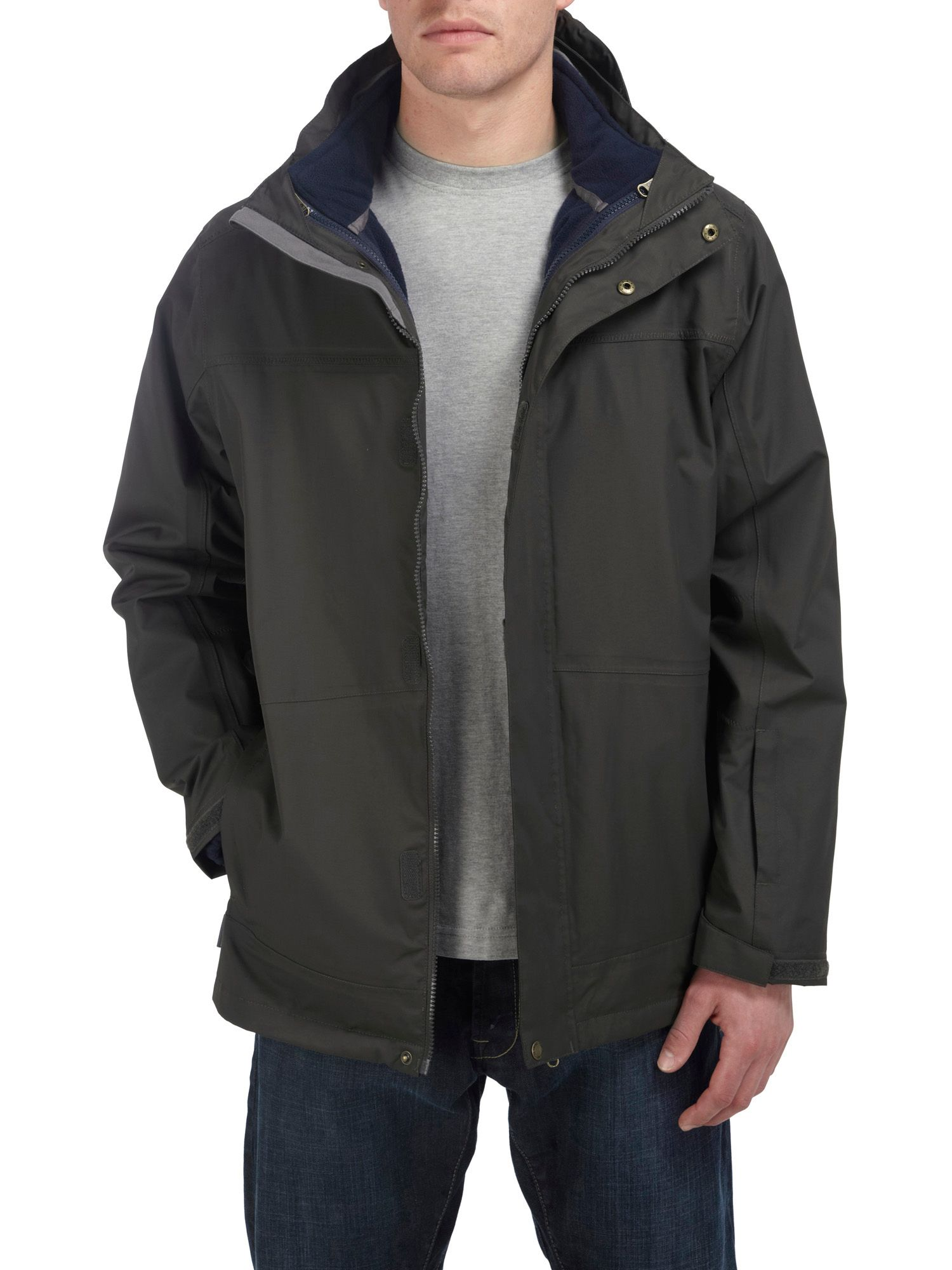 Crown 3in1 milatex hooded jacket