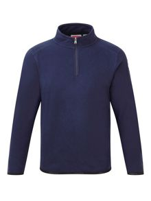 Kids Axis TCZ zip neck fleece sweatshirt