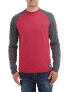 Melville mens long slv raglan