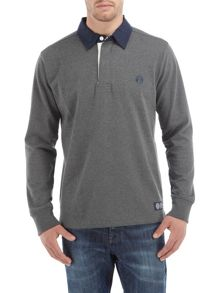 Eton mens plain rugby shirt