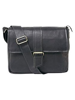 Marlow Leather Messenger Bag