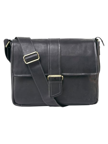 Tog 24 Marlow Leather Messenger Bag