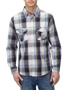 Tog 24 Cirrus Check Classic Fit Long Sleeve Classic Col