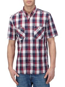 Tog 24 Severn Check Short Sleeve Classic Collar Shirt