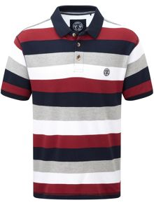 Tog 24 Wells Stripe Polo Regular Fit Polo Shirt
