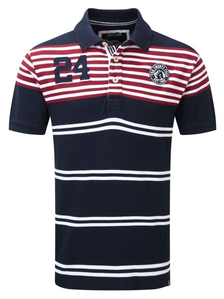 Tog 24 Vaughn Stripe Polo Regular Fit Polo Shirt