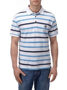 Space Stripe Polo Regular Fit Polo Shirt
