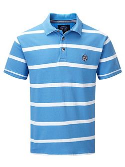 Wilson Stripe Polo Regular Fit Polo Shirt