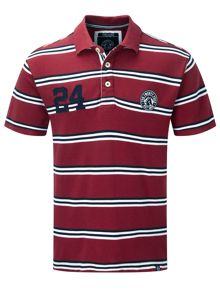 Connor Stripe Polo Regular Fit Polo Shirt