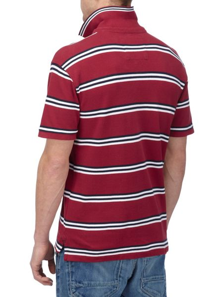 Tog 24 Connor Stripe Polo Regular Fit Polo Shirt