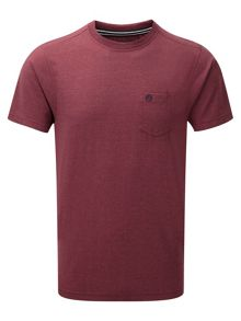 Brandon Plain Crew Neck Regular Fit T-Shirt