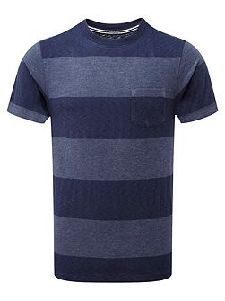 Sinott Stripe Crew Neck Regular Fit T-Shirt