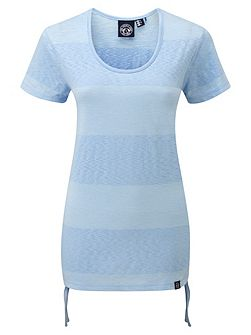 Supple stripe ladies t-shirt