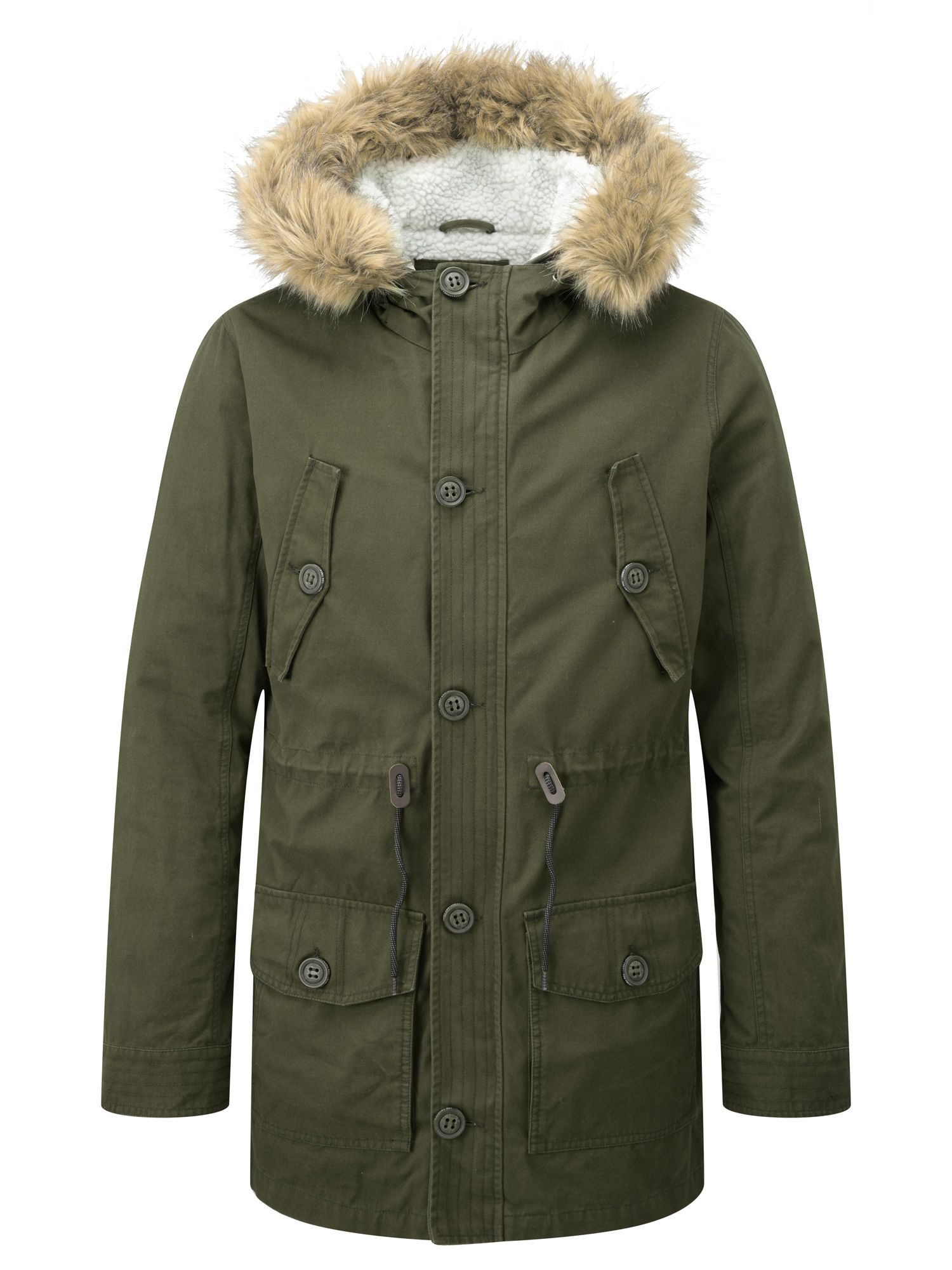 Mens Tog 24 Harrier mens parka jacket Green