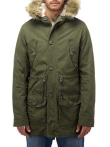 Harrier mens parka jacket