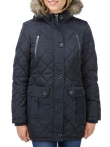 Bergamo womens TCZ thermal parka jacket