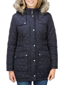 Padua womens TCZ thermal parka jacket