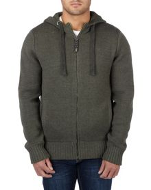 Marlin mens cotton zip hoody