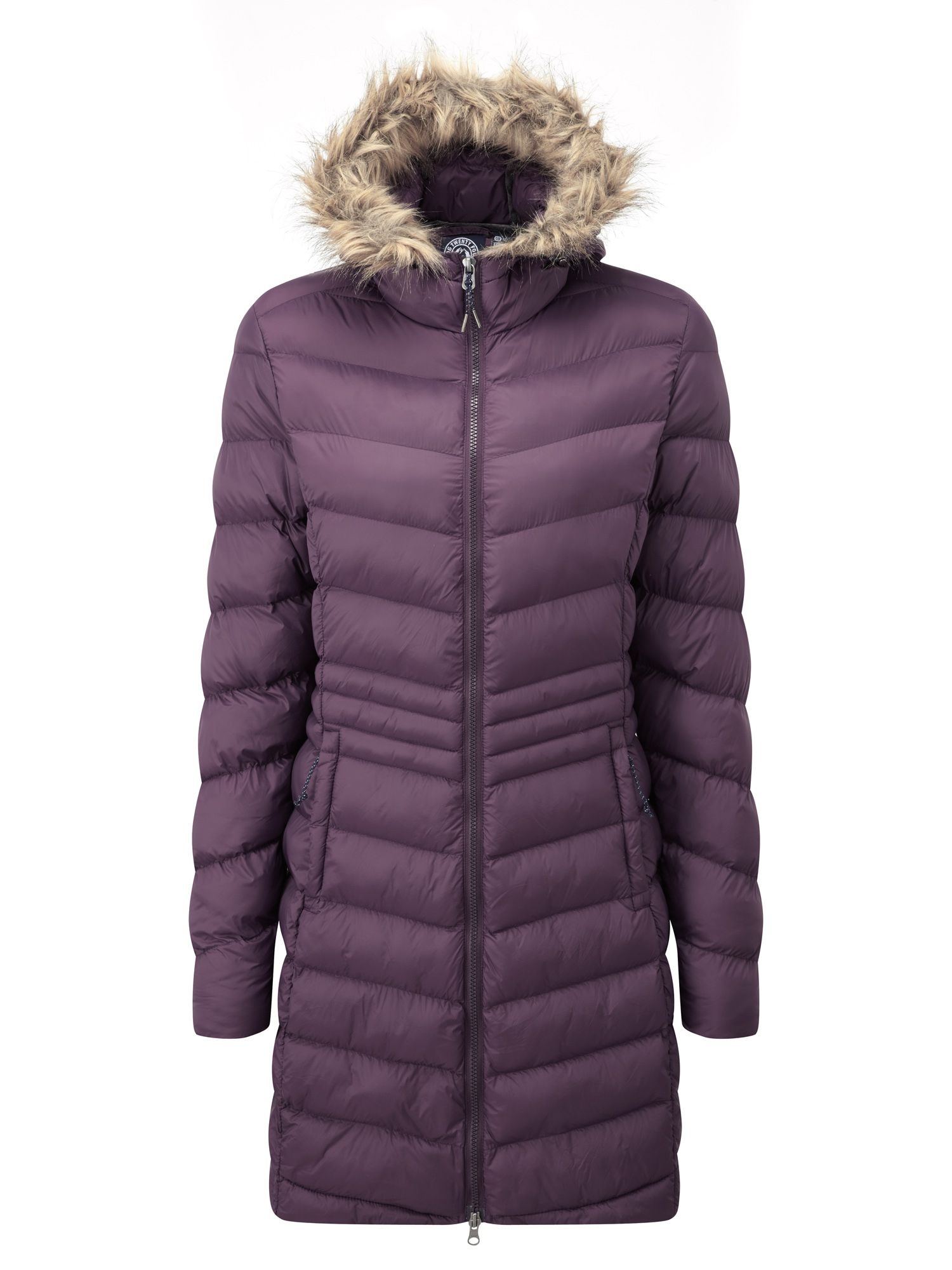 Tog 24 Silesia womens TCZ down feel jacket, Plum