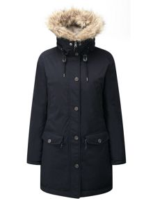 Firenza womens parka jacket