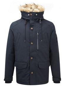 Orca mens milatex down parka jacket